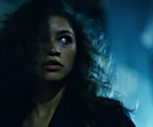 euphoria, rue, and zendaya image