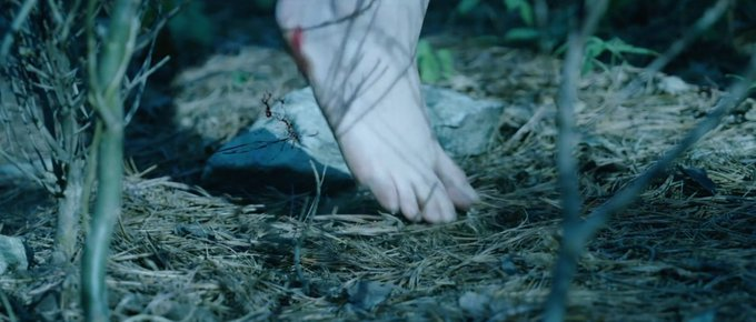 barefoot, dark, and fairy tale image