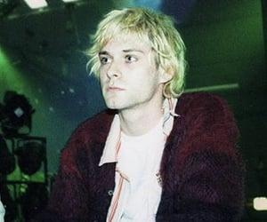 kurt cobain, grunge, and music image