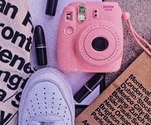 pink, carefree, and nike image