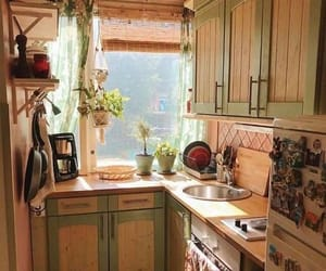 kitchen, aesthetic, and cottage image