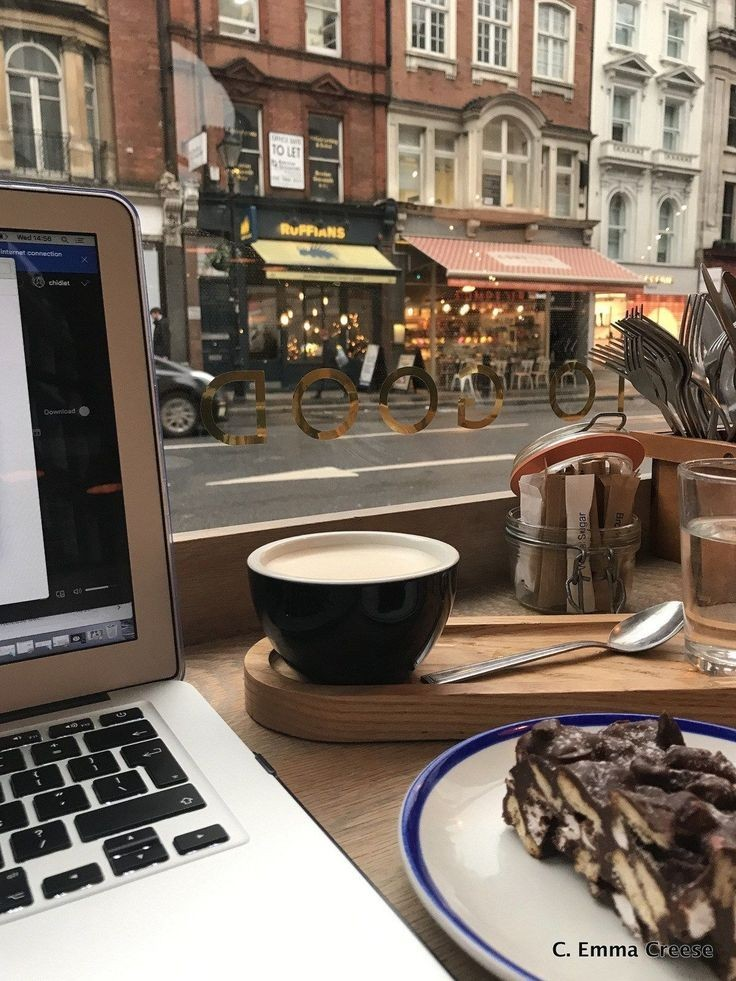 coffee, study, and food image