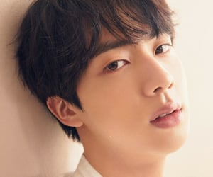 jin, kpop, and layout image