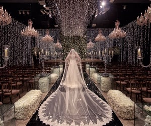 production, wedding, and bride image