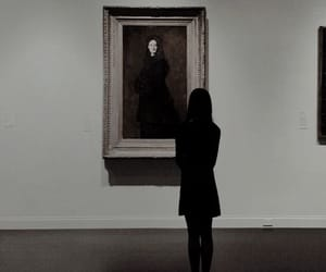 art gallery, gallery, and modern witch image