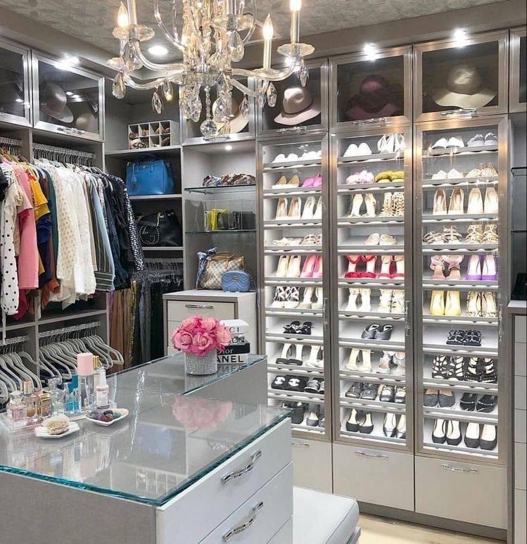 shoes, luxury, and closet image