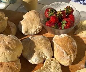 baking, bread, and cottagecore image