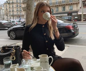 coffee, fashion, and cafe image