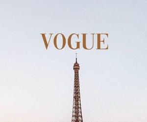 eiffel tower, paris, and vogue image