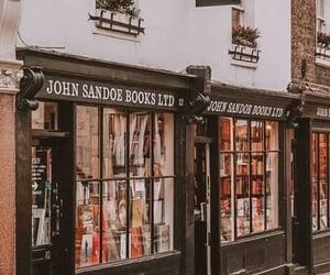 books, retro, and bookstore image