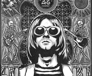 kurt cobain, rock, and rock n roll image