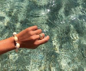 summer, sea, and bracelet image