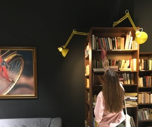 aesthetic, bookshelf, and bookstore image