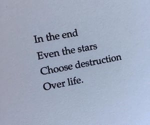 choose, destruction, and end image