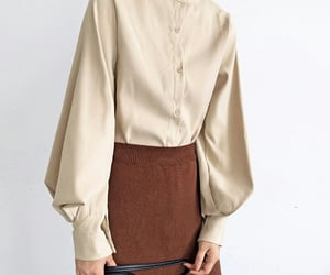 beige, maxi skirt, and outfit image