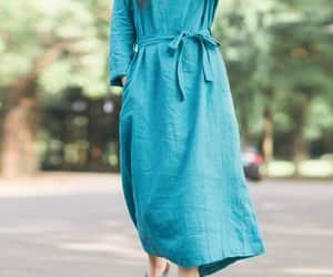 boho, vintage dress, and summer clothes image