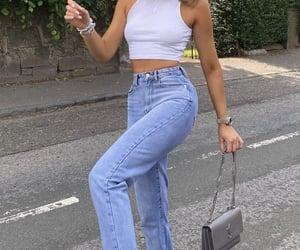 bag, girl, and jordan image