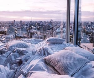 apartment, sky, and wanderlust image