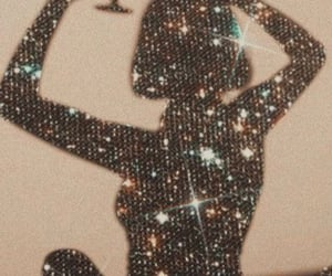 aesthetic and glitter image