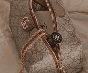 gucci, chanel, and makeup image