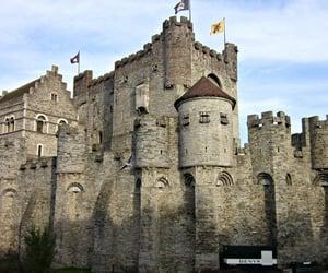 belgium, medieval castle, and castle image