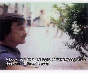 books, movie, and quote image