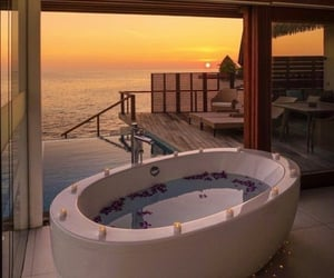 travel, Maldives, and relax image