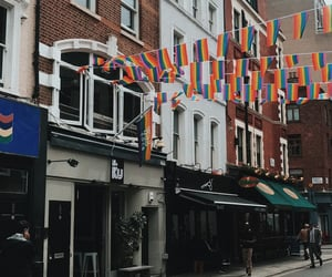 happy, love is love, and london image