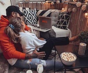 boyfriend, chill, and couple image