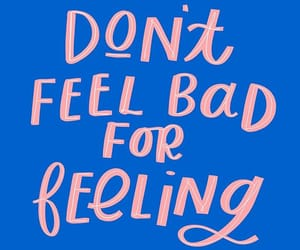 blue, feelings, and quotes image