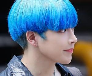 blue, ateez, and kpop image