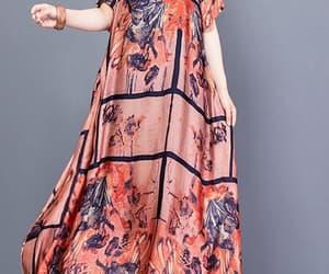 black dress, pink dress, and women's dress image