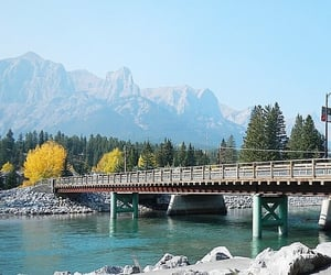 Alberta, rocky mountains, and canmore image