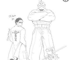manga, fma, and roy mustang image