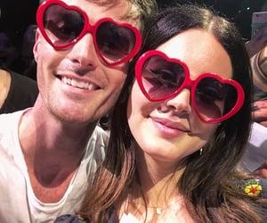 ldr, heart sunglasses, and lana del rey image