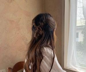 fashion, hair, and minimal image