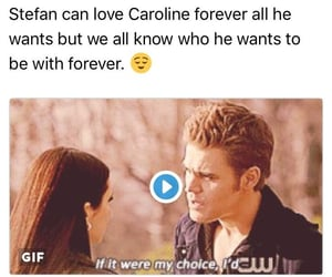 the vampire diaries, love, and stefan salvatore image