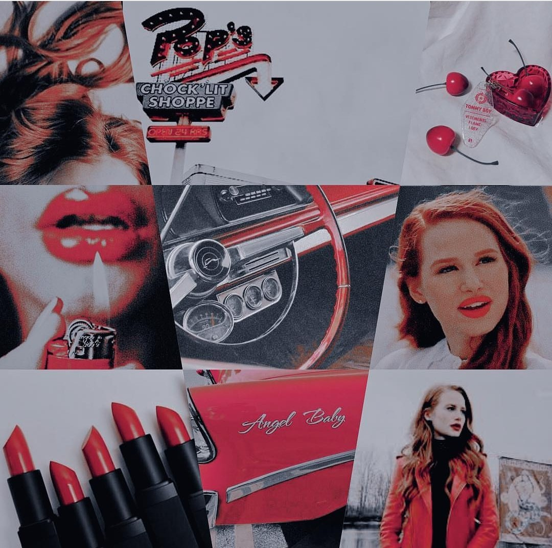 aesthetic, cheryl blossom, and character image