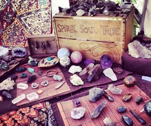 crystals, magic, and spell image
