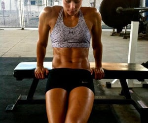 fitness, abs, and health image