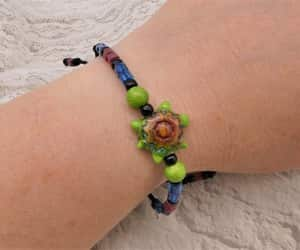 etsy, seaturtle, and beaded jewelry image