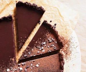 chocolat, tarte, and dessert image