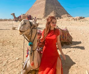 girls, egypt, and lady image