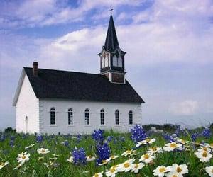 Catholic, flowers, and gott image