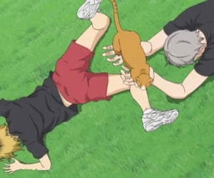 haikyuu, nekoma, and anime image