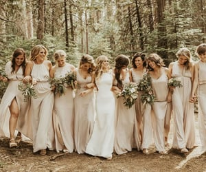 dress, aesthetic, and bride image