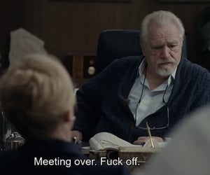 hbo, succession, and logan roy image