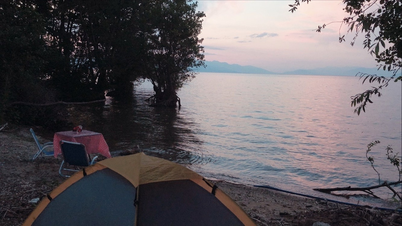 camping, mute, and weekend image