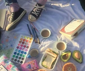 aesthetic, art, and picnic image