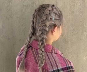 bobby pin, braids, and hair styles image